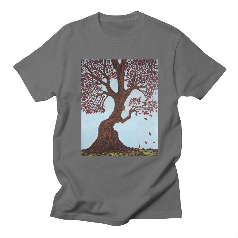 Fall Men's T-Shirt by HM Artistic Creations Artist Shop