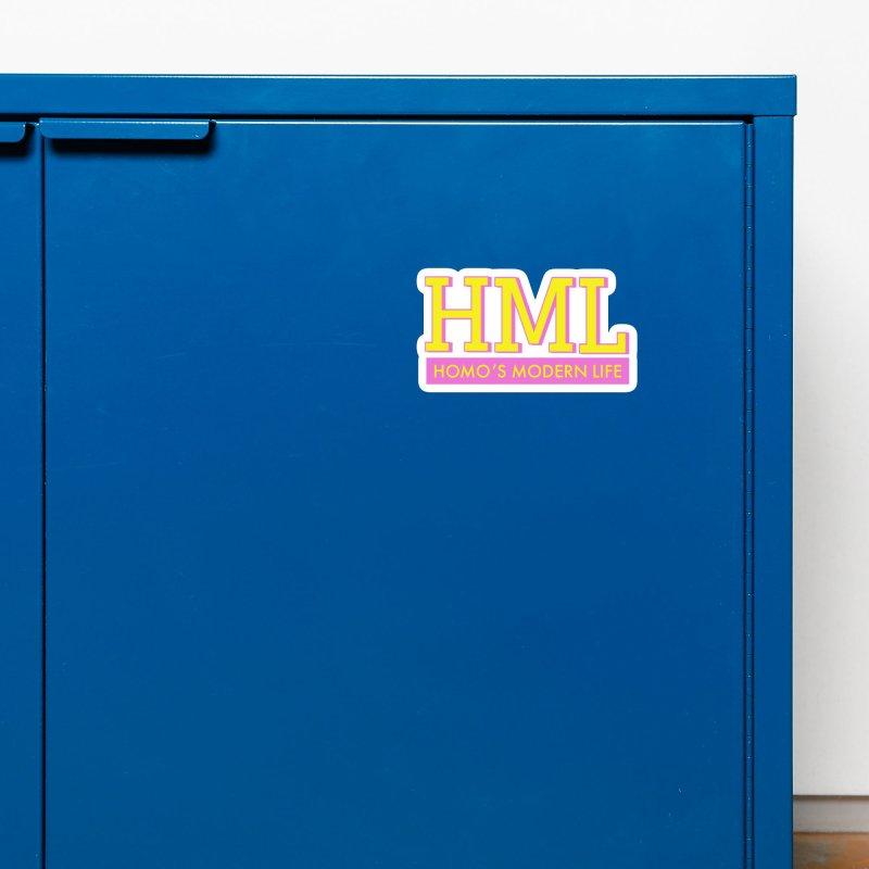 HML Original Logo Accessories Magnet by Homo's Modern Life