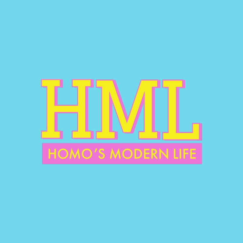 HML Original Logo Accessories Sticker by Homo's Modern Life