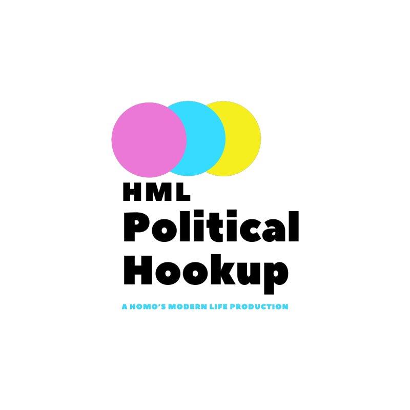 HML's Political Hookup - Original Logo Men's Longsleeve T-Shirt by Homo's Modern Life