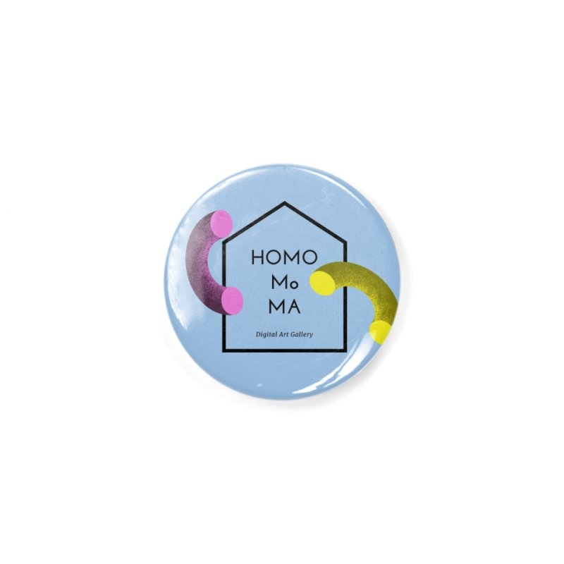 The HOMO MoMA Accessories Button by Homo's Modern Life