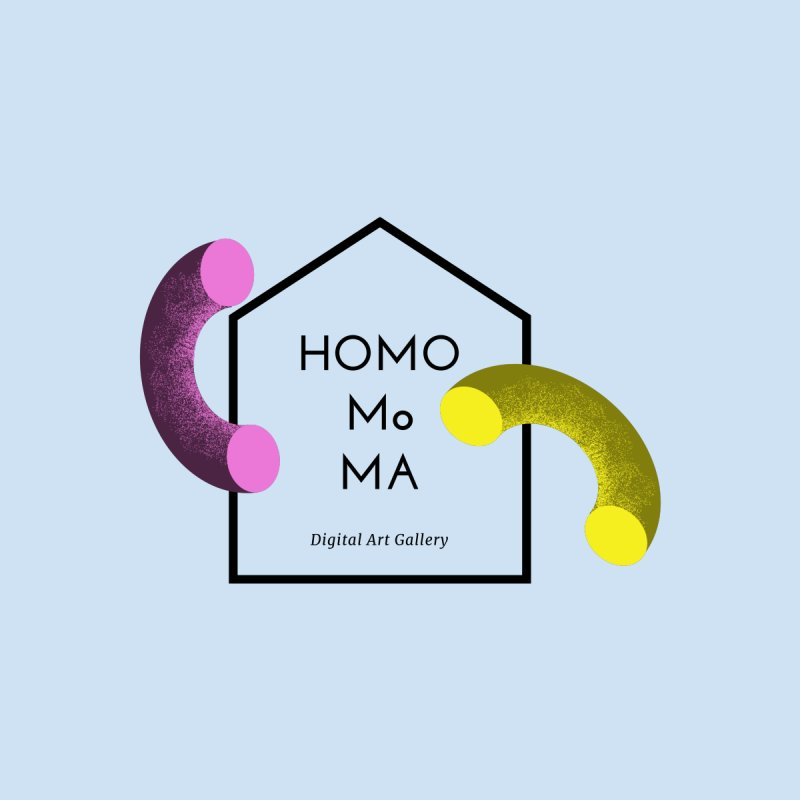 The HOMO MoMA Men's Pullover Hoody by Homo's Modern Life