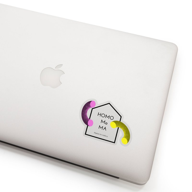 The HOMO MoMA Accessories Sticker by Homo's Modern Life