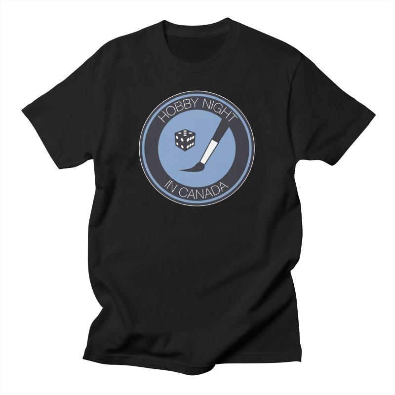 Hobby Night Logo Men's T-Shirt by Hobby Night in Canada Podcast