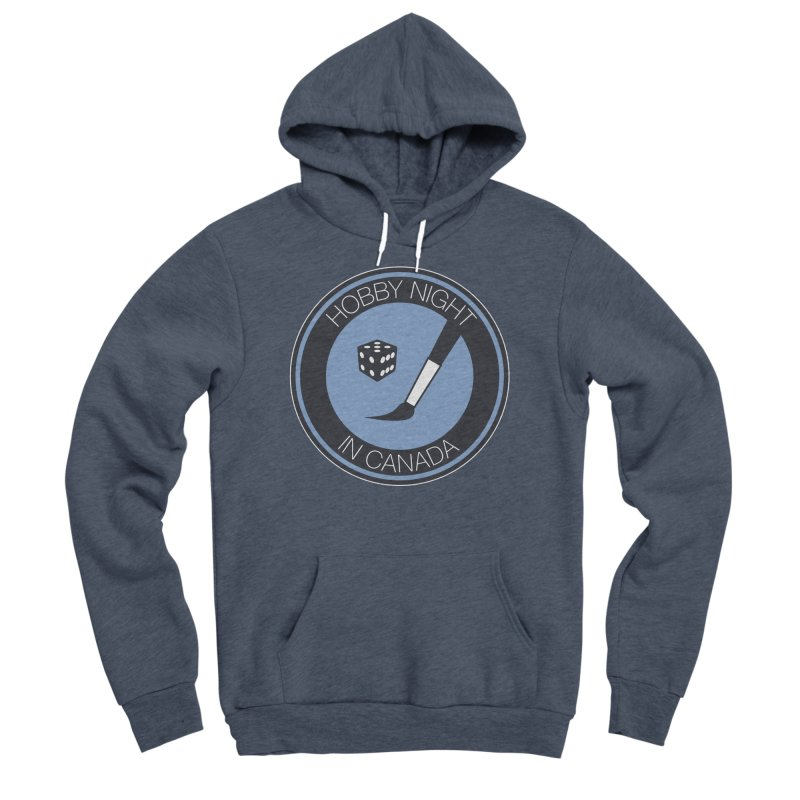 Hobby Night Logo Women's Sponge Fleece Pullover Hoody by Hobby Night in Canada Podcast