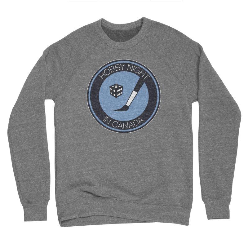 Hobby Night Logo Women's Sweatshirt by Hobby Night in Canada Podcast