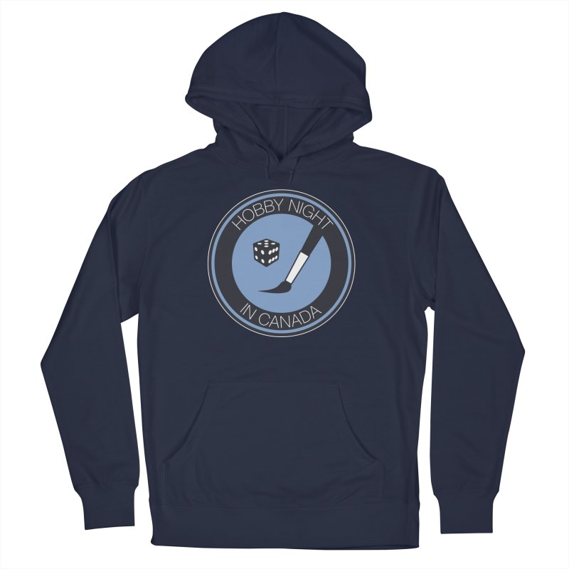 Hobby Night Logo Men's Pullover Hoody by Hobby Night in Canada Podcast