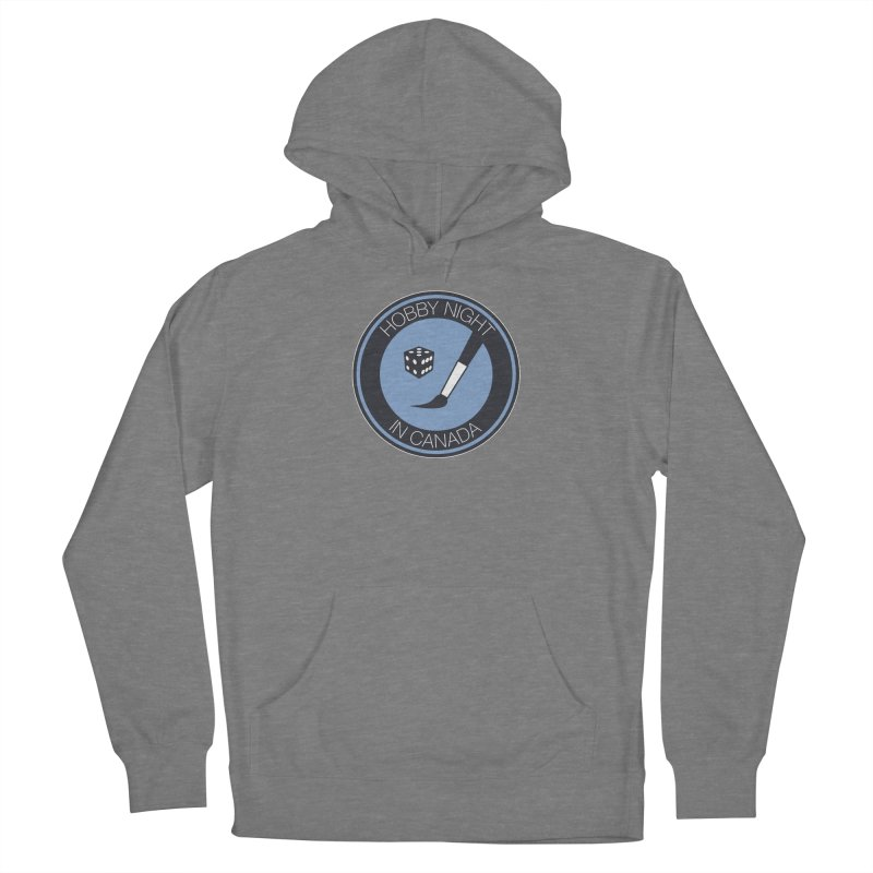 Hobby Night Logo Women's Pullover Hoody by Hobby Night in Canada Podcast