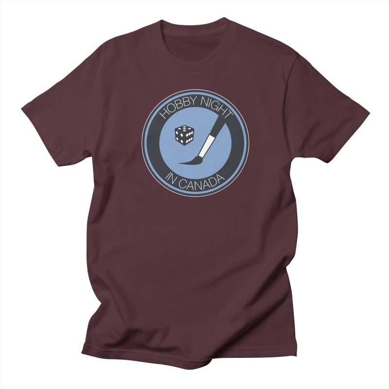 Hobby Night Logo Women's Regular Unisex T-Shirt by Hobby Night in Canada Podcast
