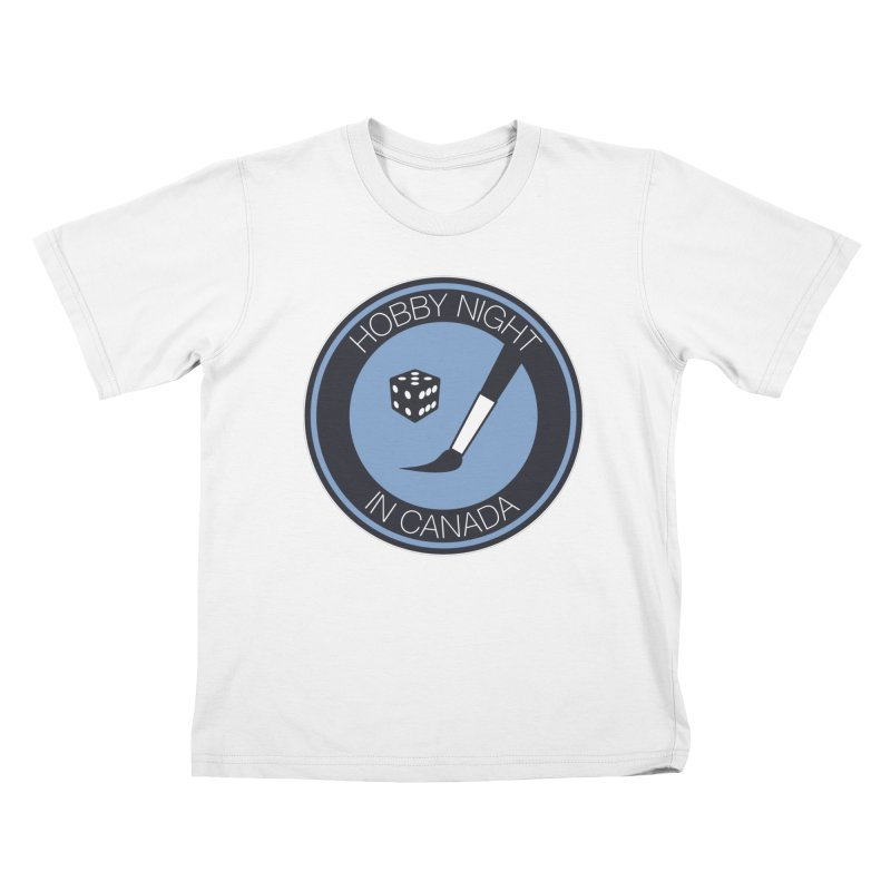 Hobby Night Logo Kids T-Shirt by Hobby Night in Canada Podcast