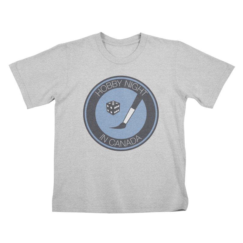 Hobby Night Logo Kids T-Shirt by Hobby Night in Canada Podcast