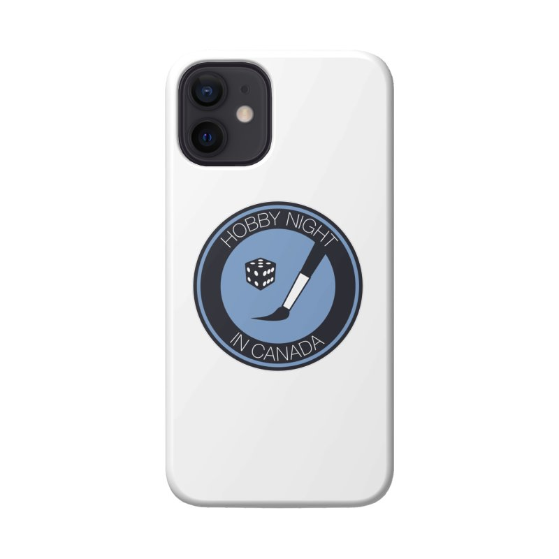 Hobby Night Logo Accessories Phone Case by Hobby Night in Canada Podcast