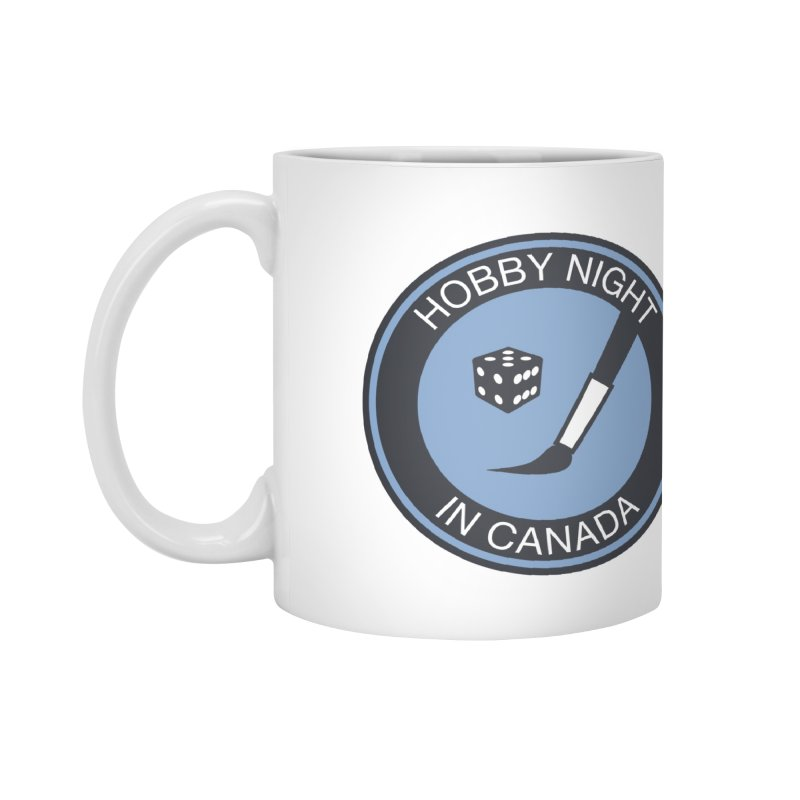 Hobby Night Logo - BOLD Accessories Standard Mug by Hobby Night in Canada Podcast