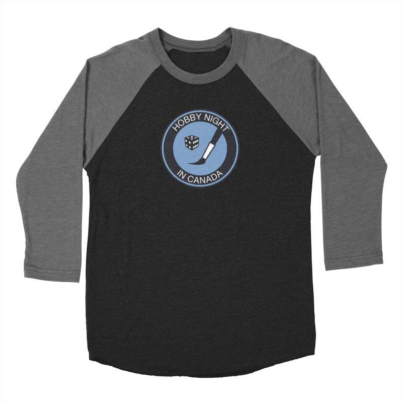 Hobby Night Logo - BOLD Men's Longsleeve T-Shirt by Hobby Night in Canada Podcast