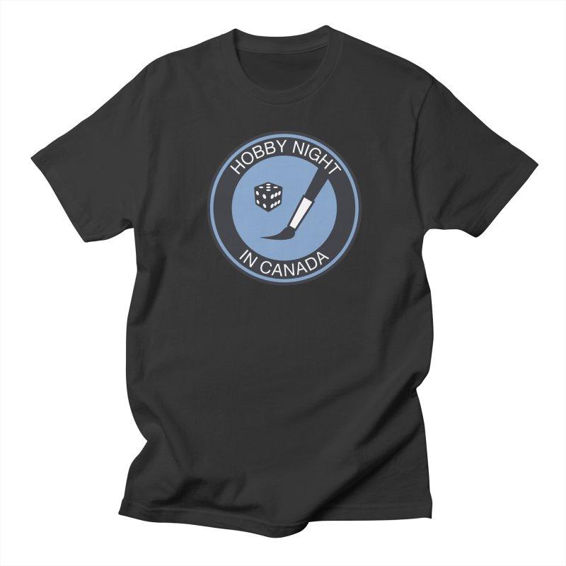 Hobby Night Logo - BOLD Women's Regular Unisex T-Shirt by Hobby Night in Canada Podcast
