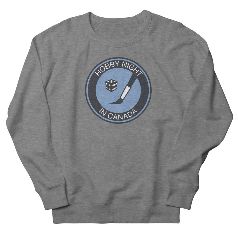 Hobby Night Logo - BOLD Women's Sweatshirt by Hobby Night in Canada Podcast