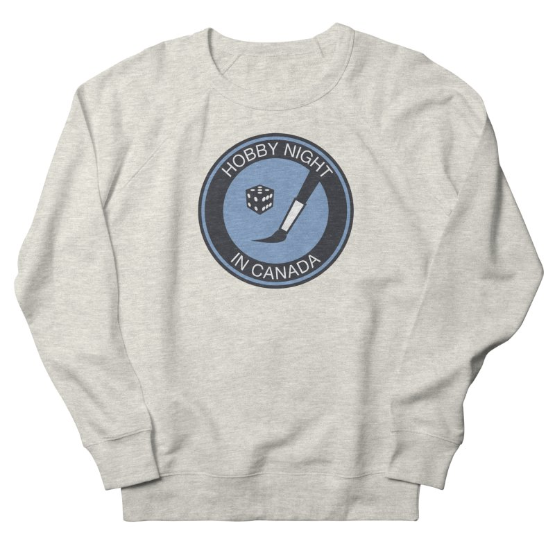 Hobby Night Logo - BOLD Men's Sweatshirt by Hobby Night in Canada Podcast