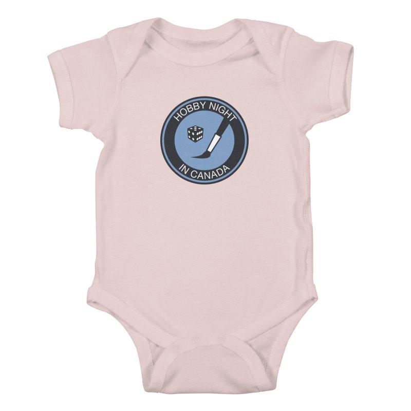 Hobby Night Logo - BOLD Kids Baby Bodysuit by Hobby Night in Canada Podcast