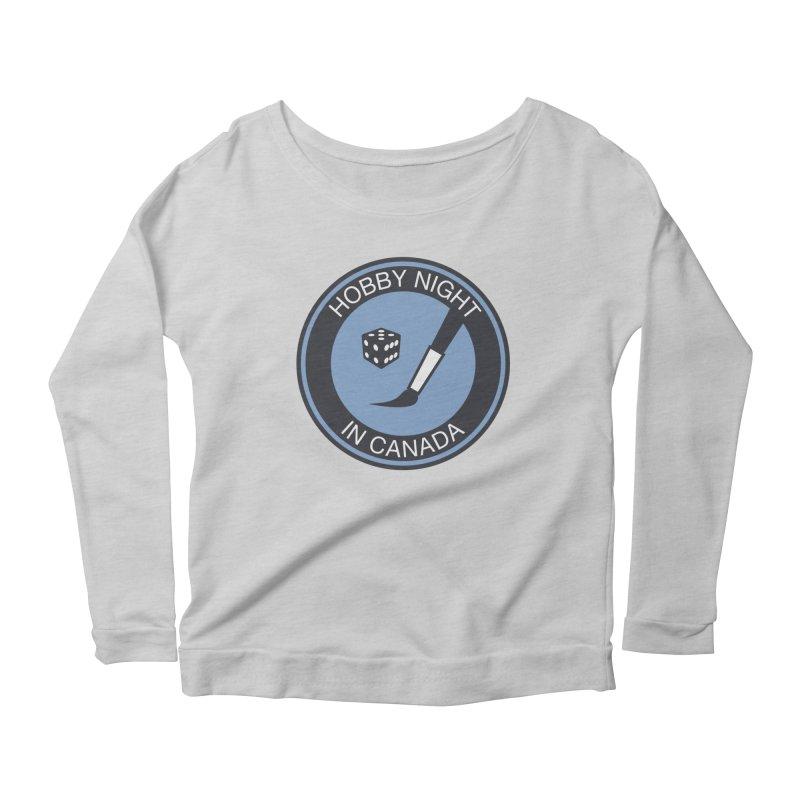 Hobby Night Logo - BOLD Women's Longsleeve T-Shirt by Hobby Night in Canada Podcast