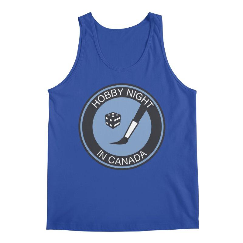 Hobby Night Logo - BOLD Men's Tank by Hobby Night in Canada Podcast