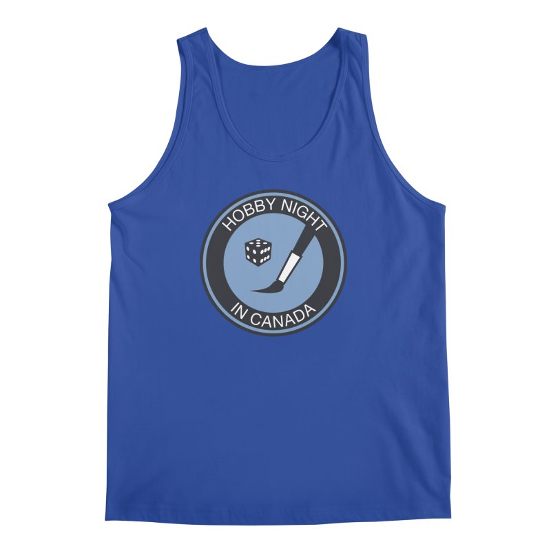 Hobby Night Logo - BOLD Men's Regular Tank by Hobby Night in Canada Podcast