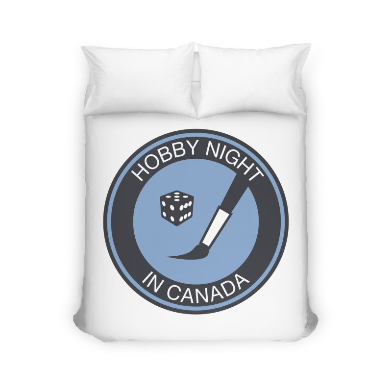 Hobby Night Logo - BOLD Home Duvet by Hobby Night in Canada Podcast