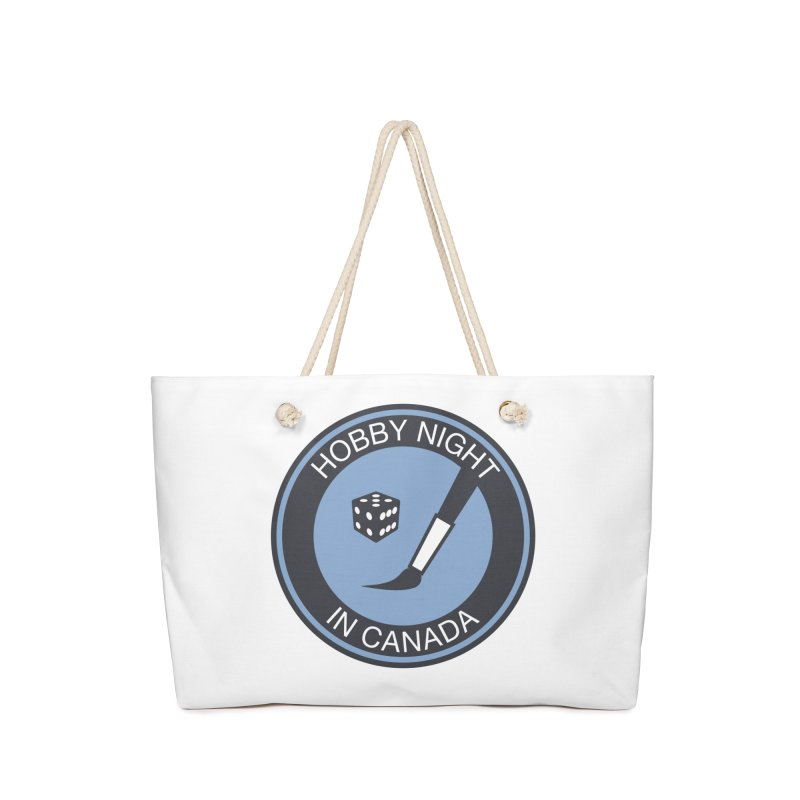 Hobby Night Logo - BOLD Accessories Bag by Hobby Night in Canada Podcast
