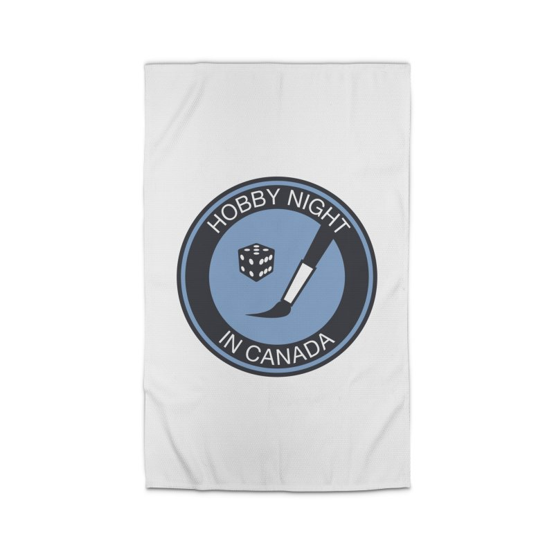 Hobby Night Logo - BOLD Home Rug by Hobby Night in Canada Podcast