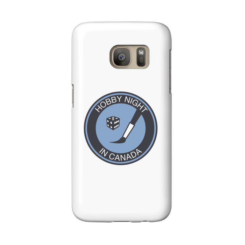 Hobby Night Logo - BOLD Accessories Phone Case by Hobby Night in Canada Podcast