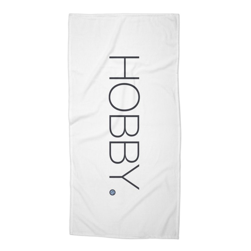 HOBBY. Accessories Beach Towel by Hobby Night in Canada Podcast
