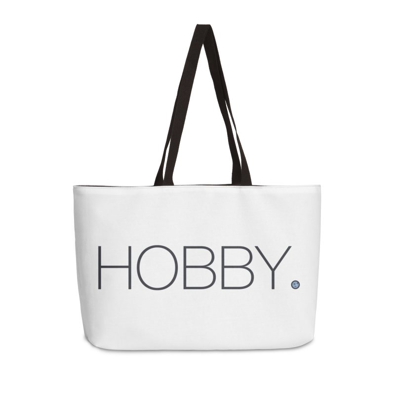 HOBBY. Accessories Weekender Bag Bag by Hobby Night in Canada Podcast