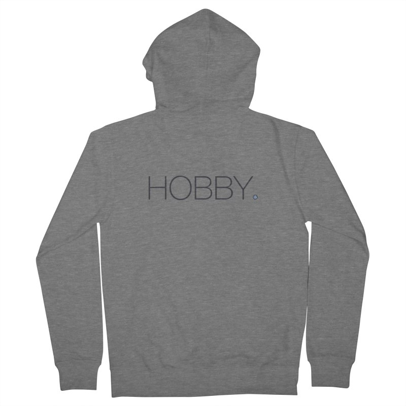 HOBBY. Men's Zip-Up Hoody by Hobby Night in Canada Podcast