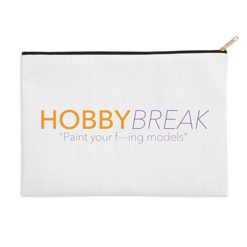 Hobby Break Accessories Zip Pouch by Hobby Night in Canada Podcast