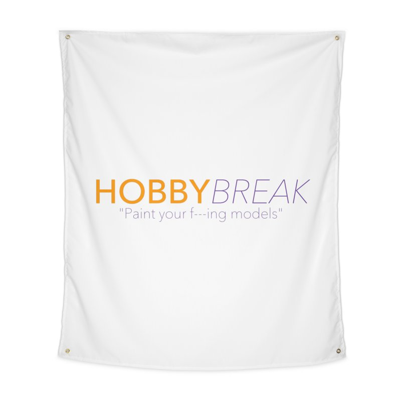 Hobby Break Home Tapestry by Hobby Night in Canada Podcast