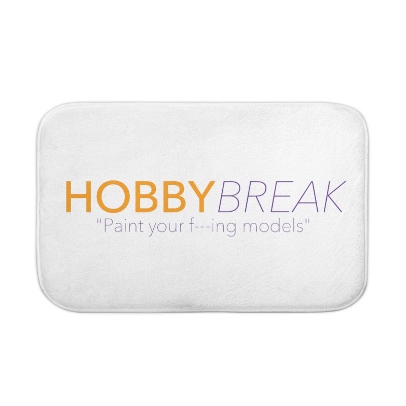 Hobby Break Home Bath Mat by Hobby Night in Canada Podcast