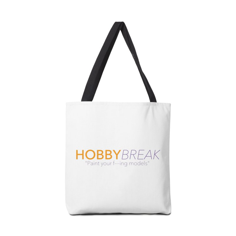Hobby Break Accessories Tote Bag Bag by Hobby Night in Canada Podcast
