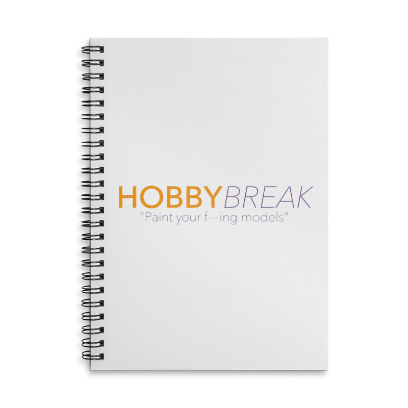 Hobby Break Accessories Notebook by Hobby Night in Canada Podcast