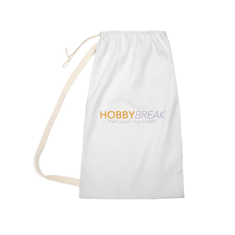Hobby Break Accessories Laundry Bag Bag by Hobby Night in Canada Podcast