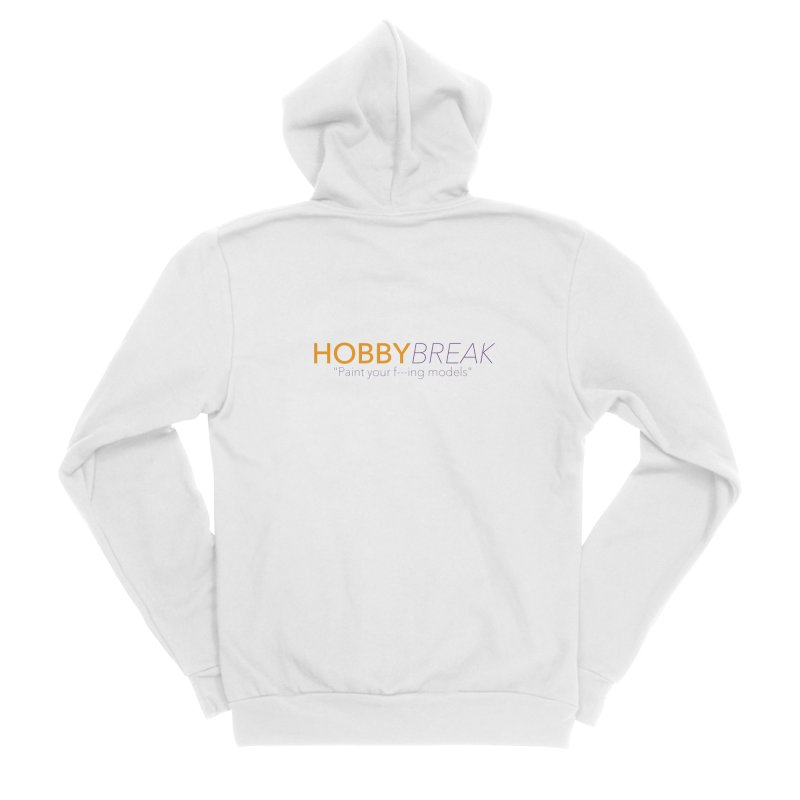 Hobby Break Women's Sponge Fleece Zip-Up Hoody by Hobby Night in Canada Podcast