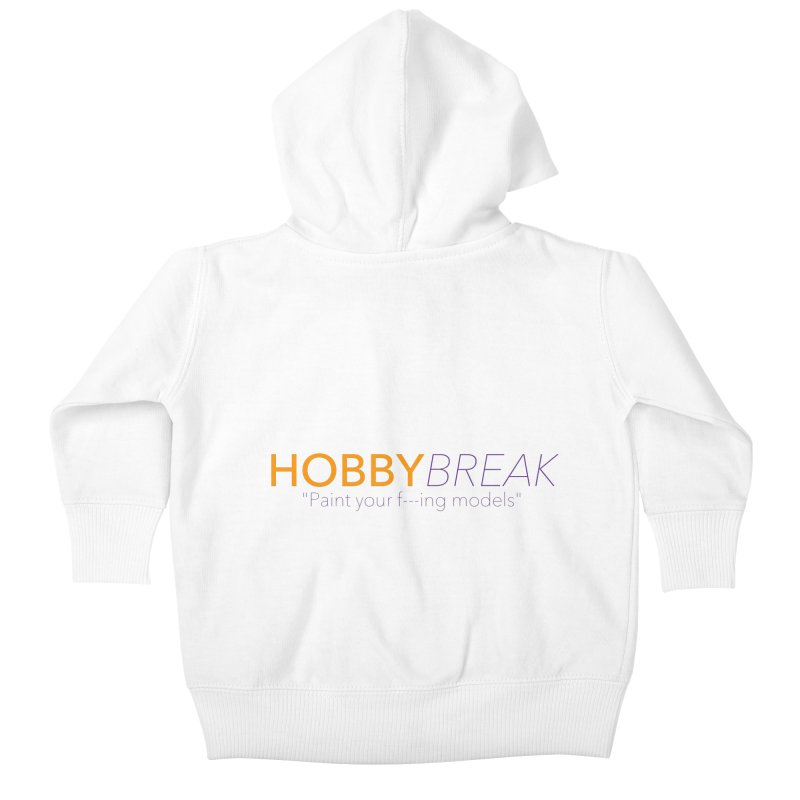 Hobby Break Kids Baby Zip-Up Hoody by Hobby Night in Canada Podcast
