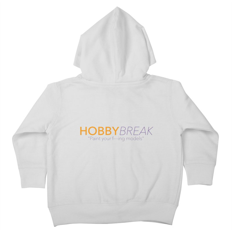 Hobby Break Kids Toddler Zip-Up Hoody by Hobby Night in Canada Podcast