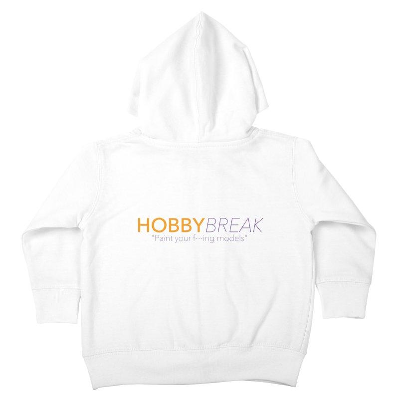 Hobby Break Kids Toddler Zip-Up Hoody by Hobby Night in Canada Podcast