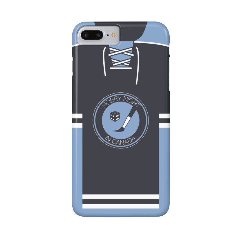 Hobby Night Hockey Sweater Accessories Phone Case by Hobby Night in Canada Podcast