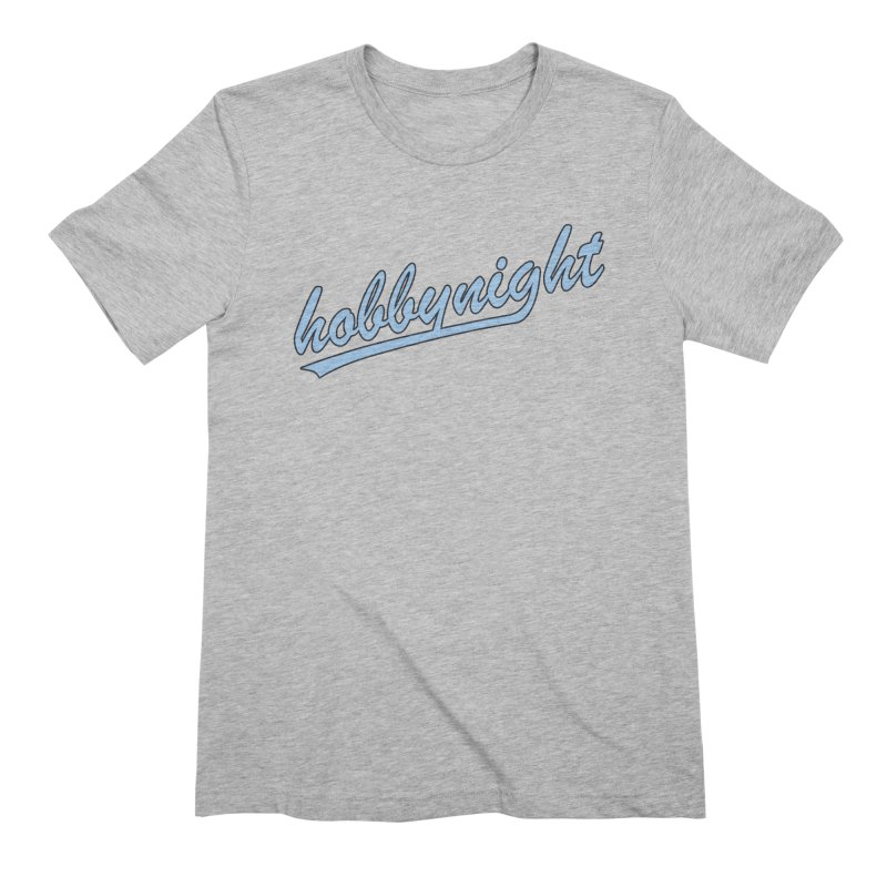 Hobby Night - Play Ball Men's T-Shirt by Hobby Night in Canada Podcast