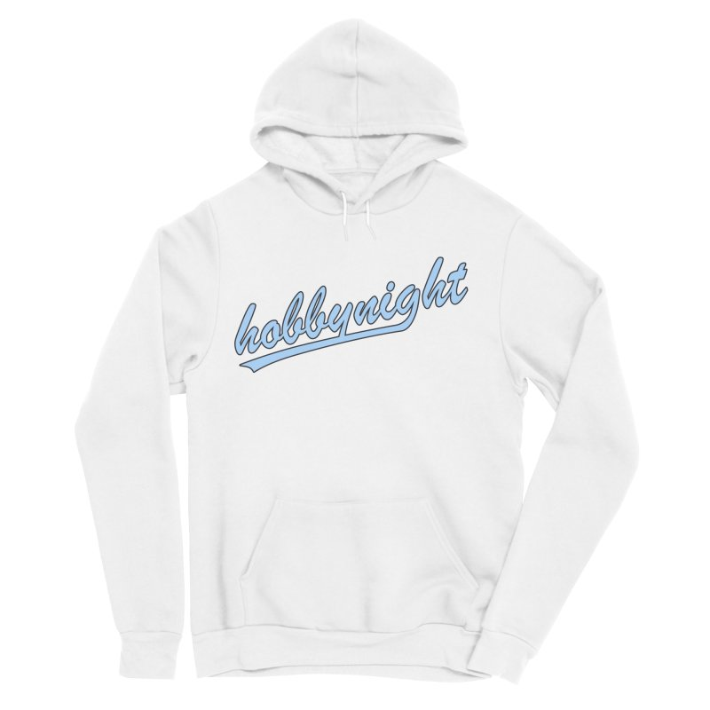 Hobby Night - Play Ball Women's Sponge Fleece Pullover Hoody by Hobby Night in Canada Podcast