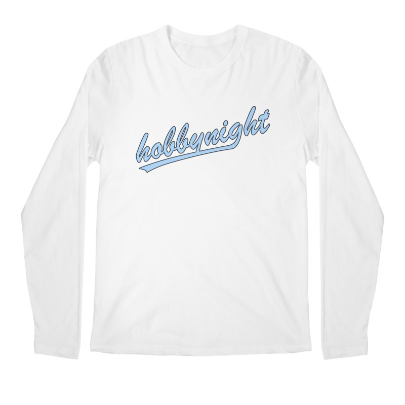 Hobby Night - Play Ball Men's Regular Longsleeve T-Shirt by Hobby Night in Canada Podcast