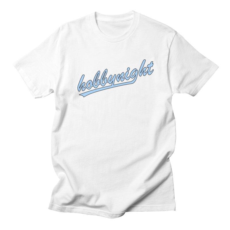Hobby Night - Play Ball Men's Regular T-Shirt by Hobby Night in Canada Podcast