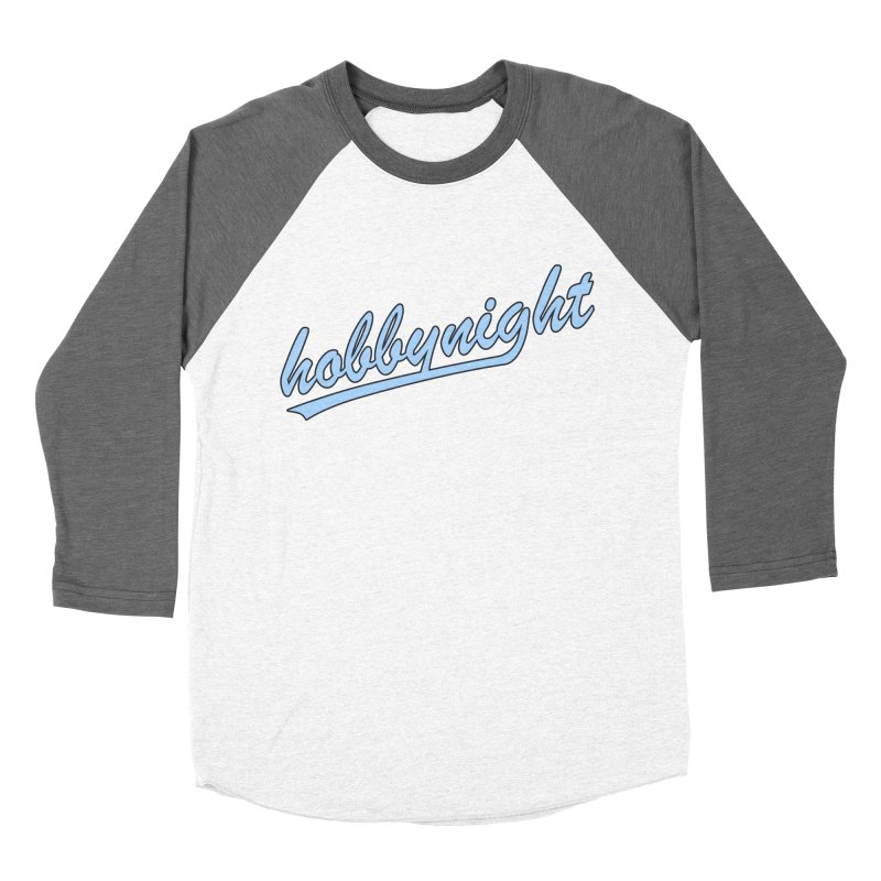 Hobby Night - Play Ball Men's Baseball Triblend Longsleeve T-Shirt by Hobby Night in Canada Podcast