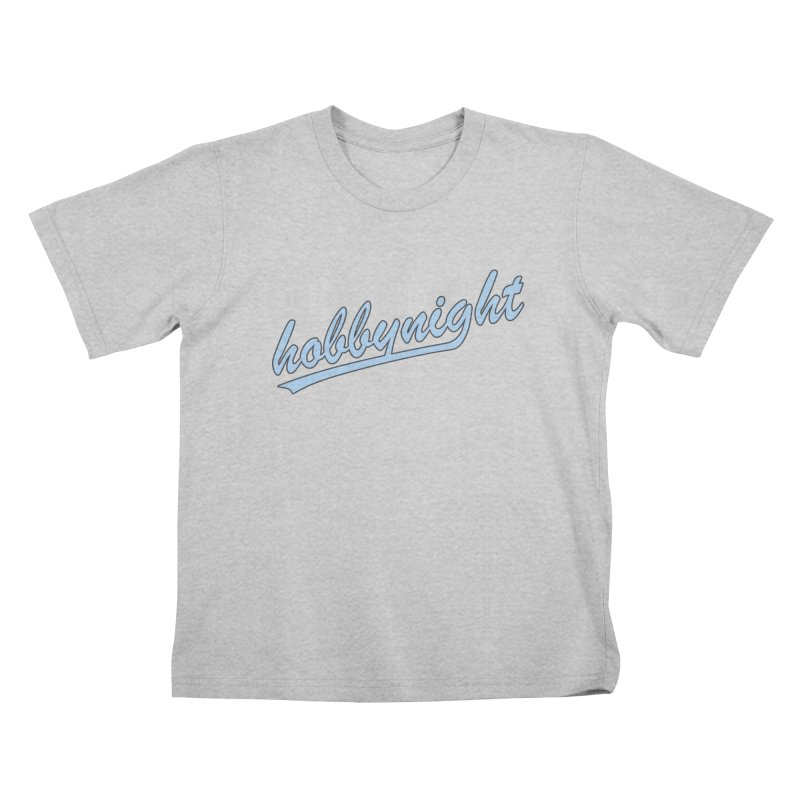 Hobby Night - Play Ball Kids T-Shirt by Hobby Night in Canada Podcast