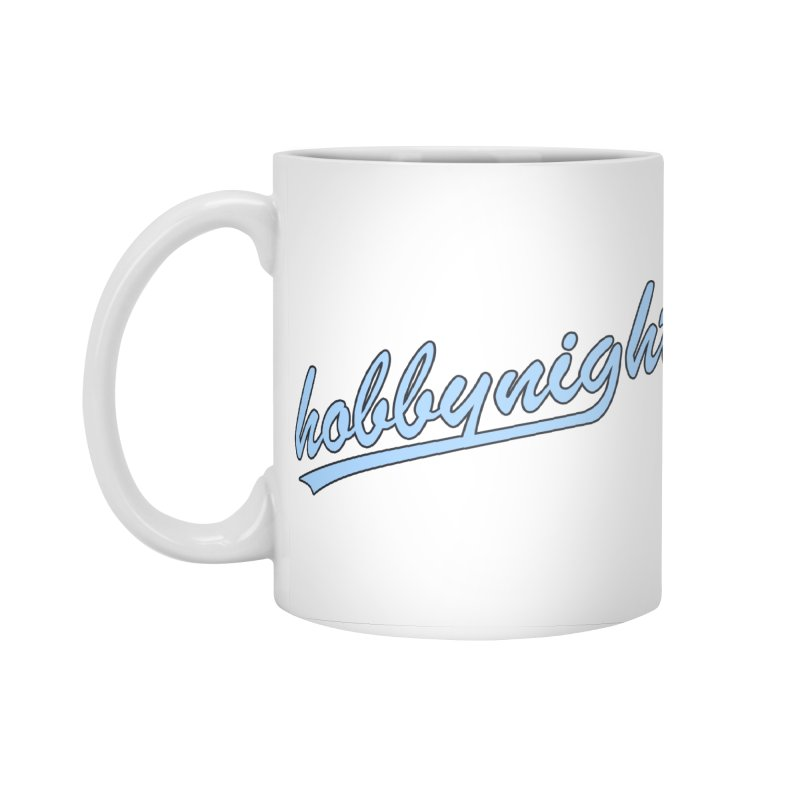 Hobby Night - Play Ball Accessories Standard Mug by Hobby Night in Canada Podcast